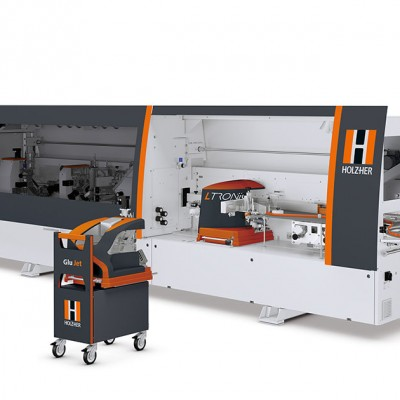 Lumina 1500 series high production multi-shift edgebanders with L-Tronic